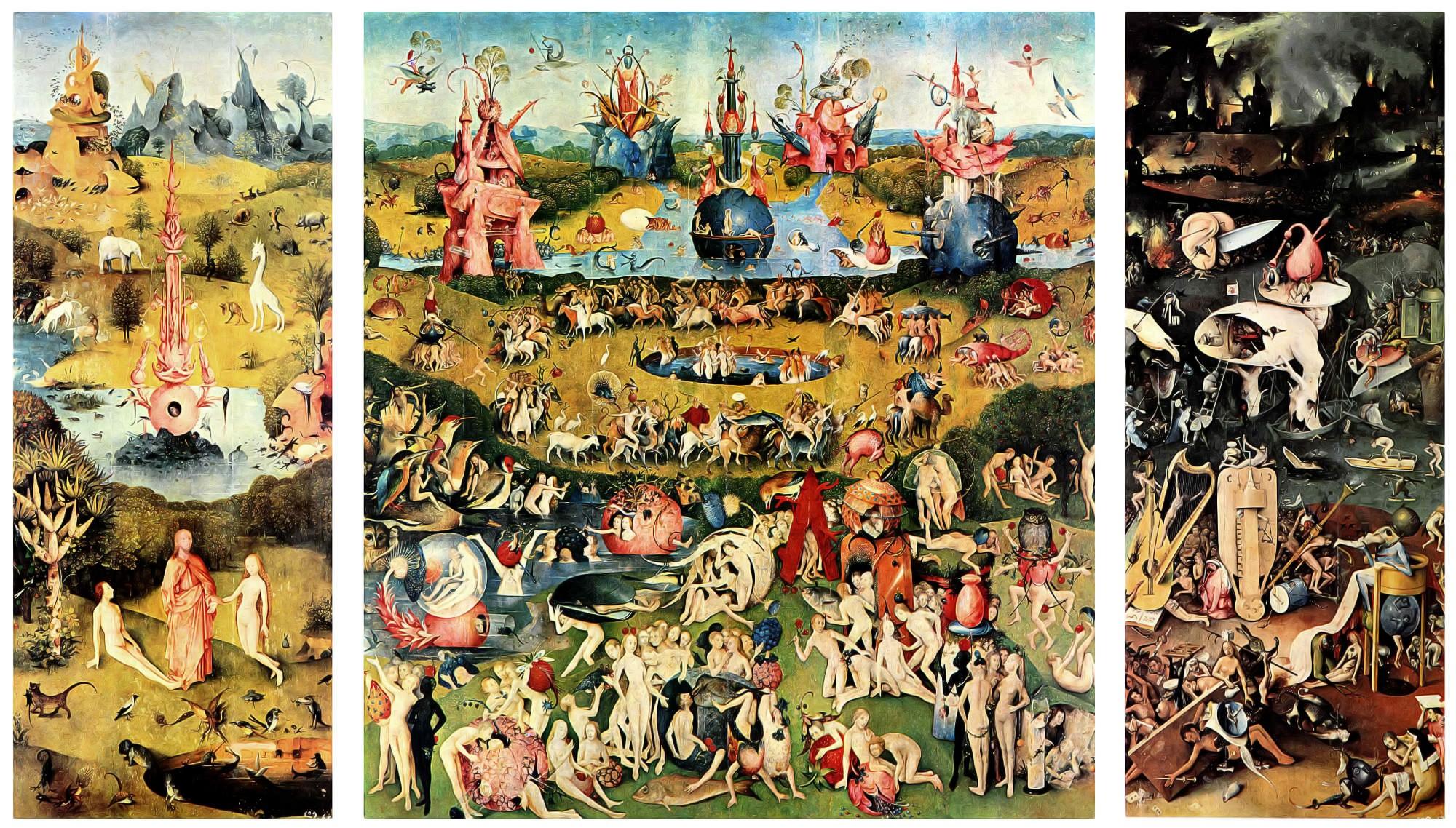Hieronymus Bosch Der Garten Lüste